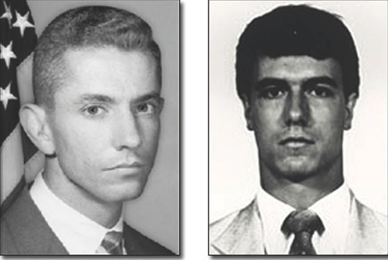 Miami FBI Special Agents Benjamin Grogan and Jerry Дове