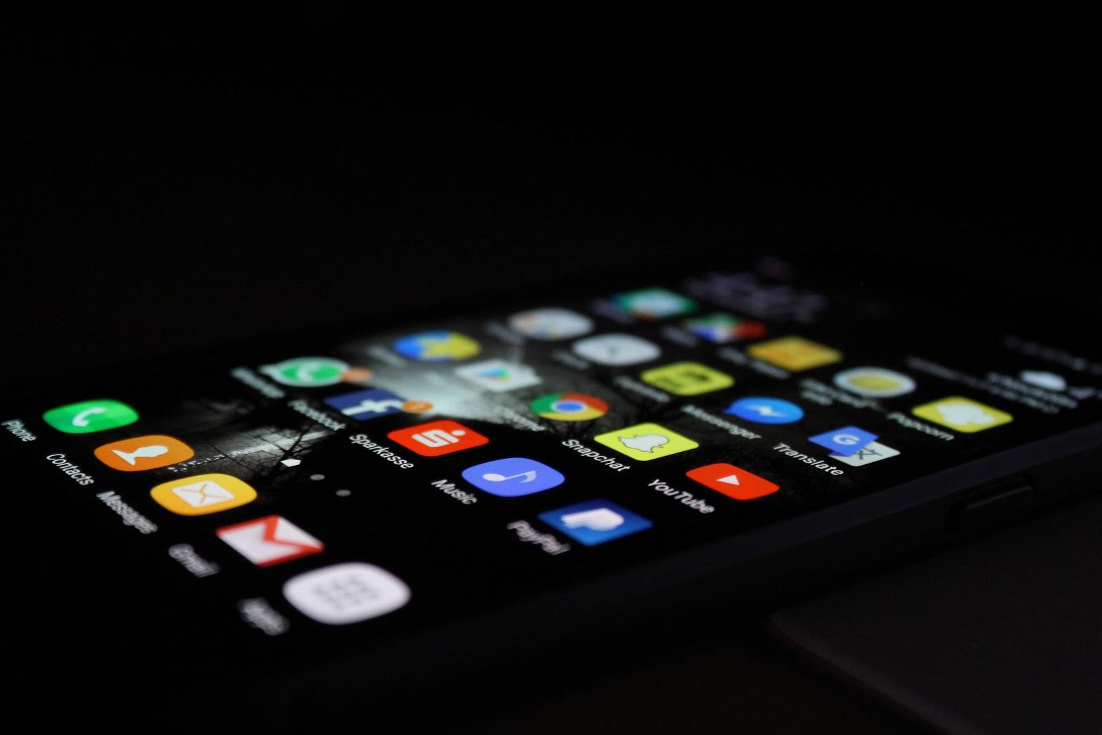smartphone-android-nero