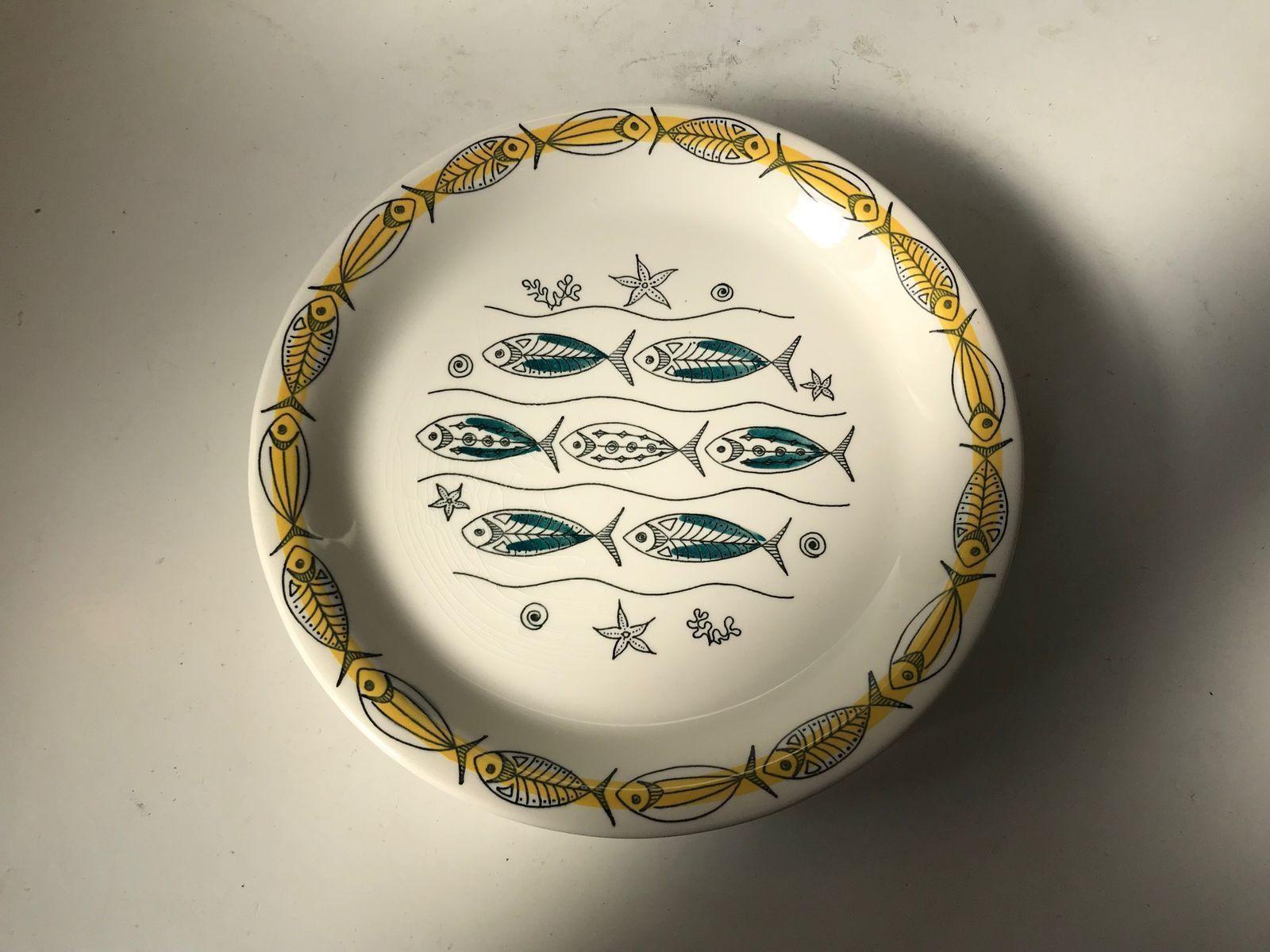 Mid century tableware