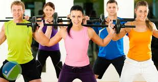 Image result for adults exercising
