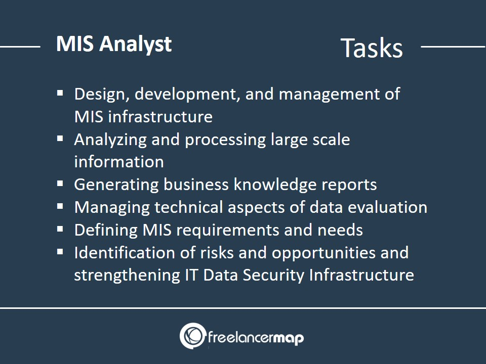 MIS Analyst - Responsibilities and Tasks