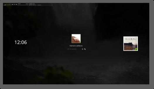 Az új Cinnamon 3.2 képernyővédő