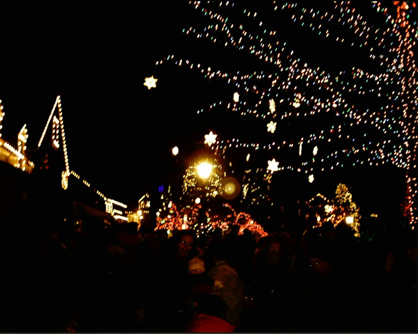 Holiday Season Lights Up at Peddler's Village.