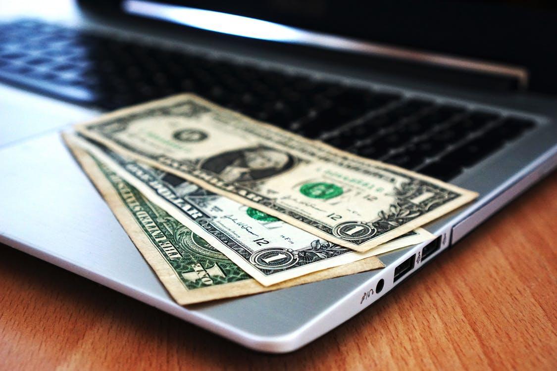 dollar bill - monetizing a blog