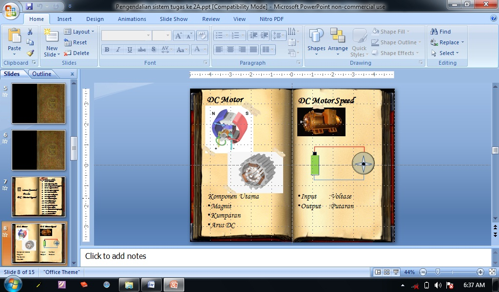 download contoh presentasi power point keren
