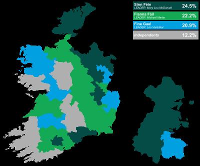 Image result for 2020 irish election