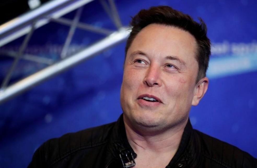 Elon Musk em foto sem data — Foto: Reuters