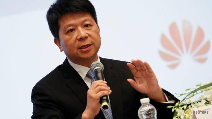 Guo Ping - giám đốc điều hành luân phiên của Huawei tại Diễn đàn công nghệ Huawei Connect thường niên.