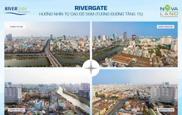cảnh quan căn hộ river gate