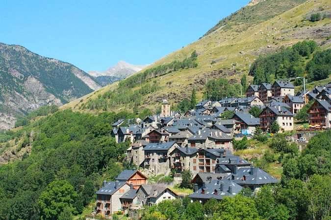 El pueblo de Taüll situado en las montañas ¿A que es bonito?