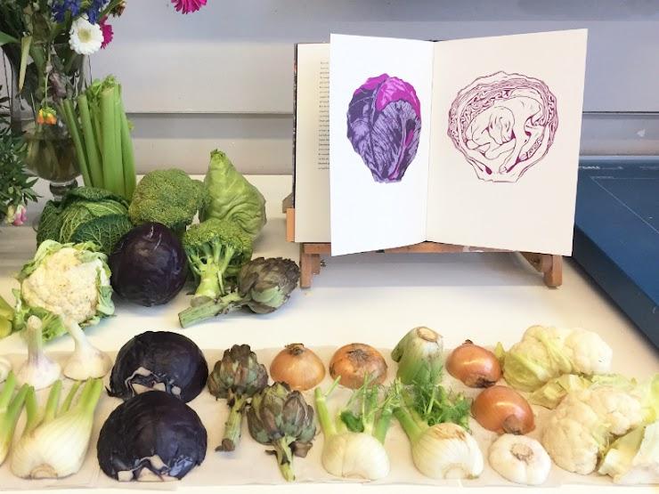 Workshop groentedieren met Merlijne Marell