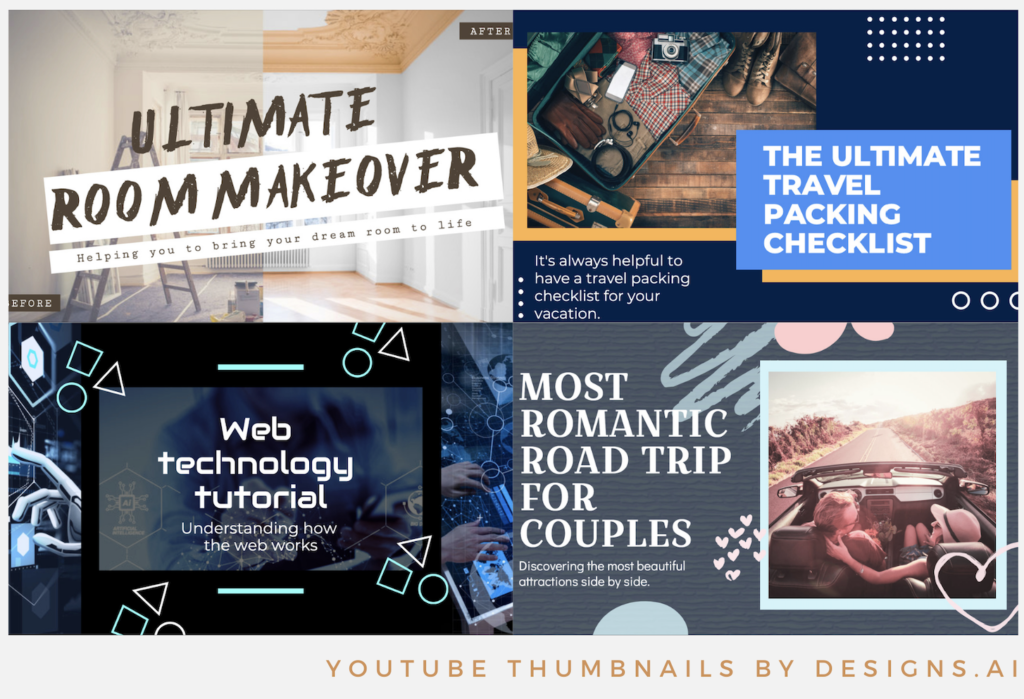 Designs.ai   Must knows to build a quality YouTube channel for your business - YouTube thumbnail templates available in Designs.ai