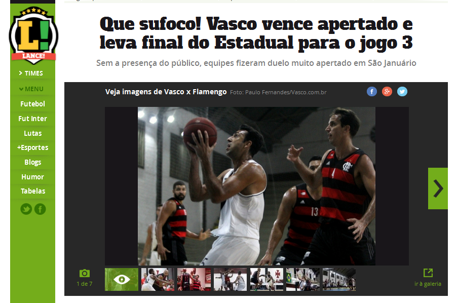 FlaPress na final do carioca de Basquete