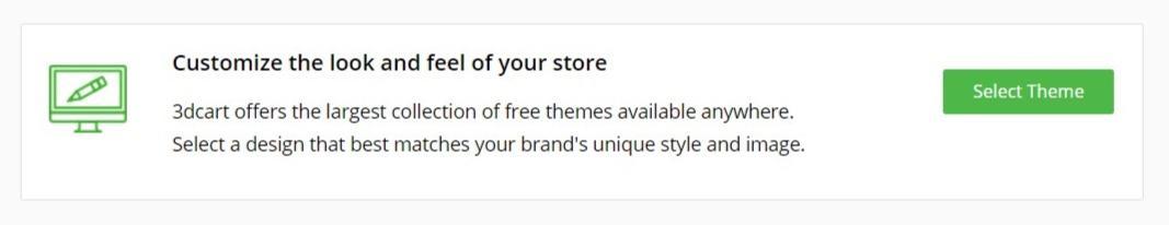 3dcart customize your store
