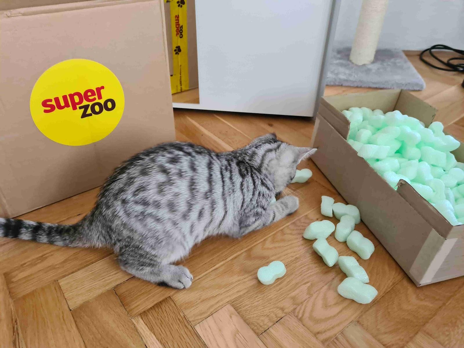 Recenze Superzoo.cz: Mystery box