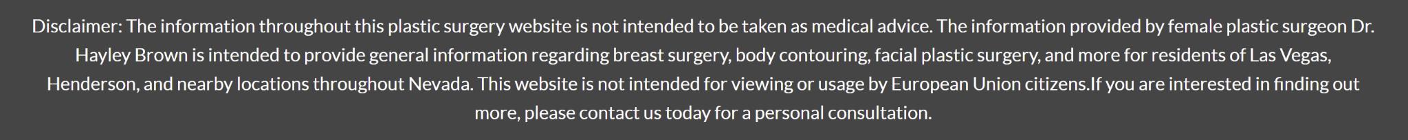 Hayley Brown, MD reviews