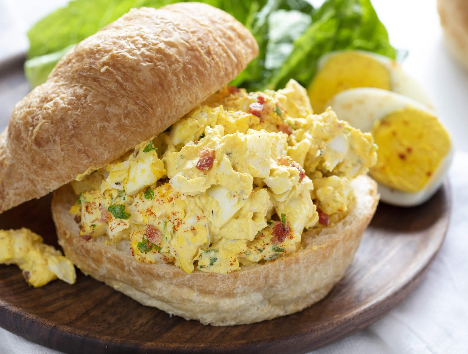 Deluxe Egg Salad recipe