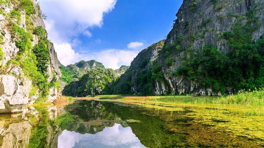 Vẻ đẹp nên thơ của khu du lịch Vân Long