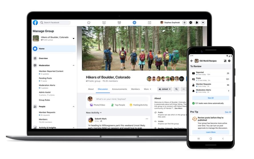 media społecznościowe zmiany Facebook