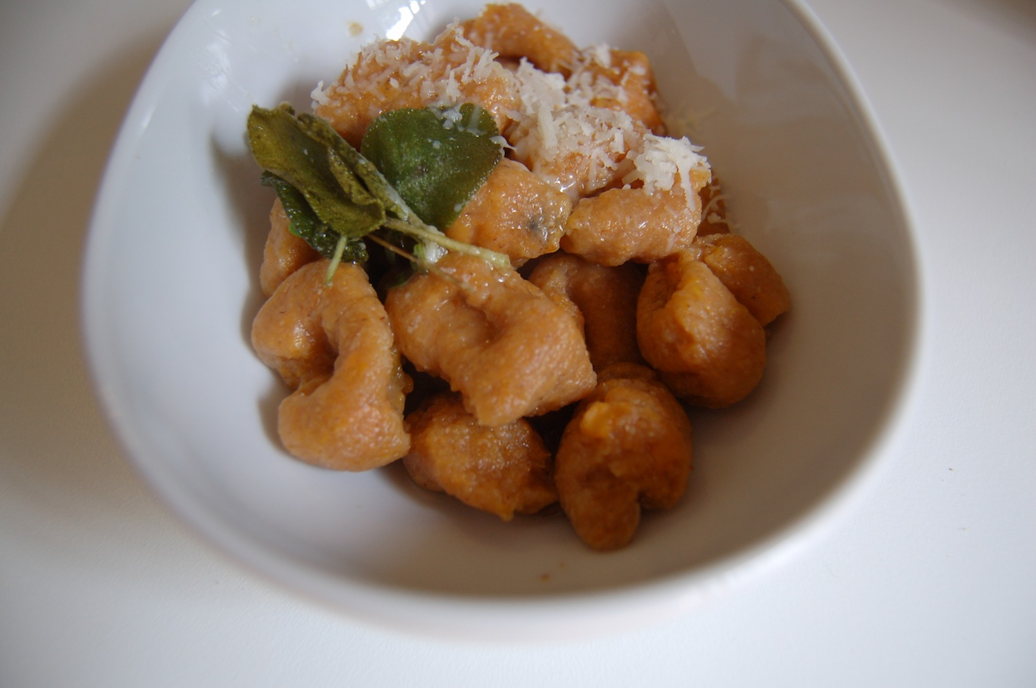 The Iron You: Whole Wheat Sweet Potato Gnocchi