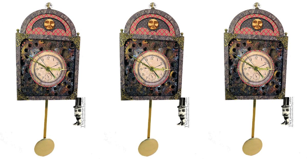 Diy Pendulum Clock Tutorial The Gentleman Crafter 2019 2020