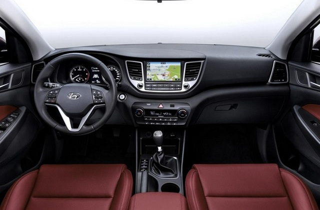2016 Hyundai IX35 interior
