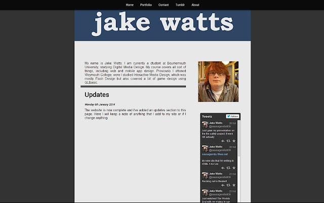 Jake Watts Chrome Web Store