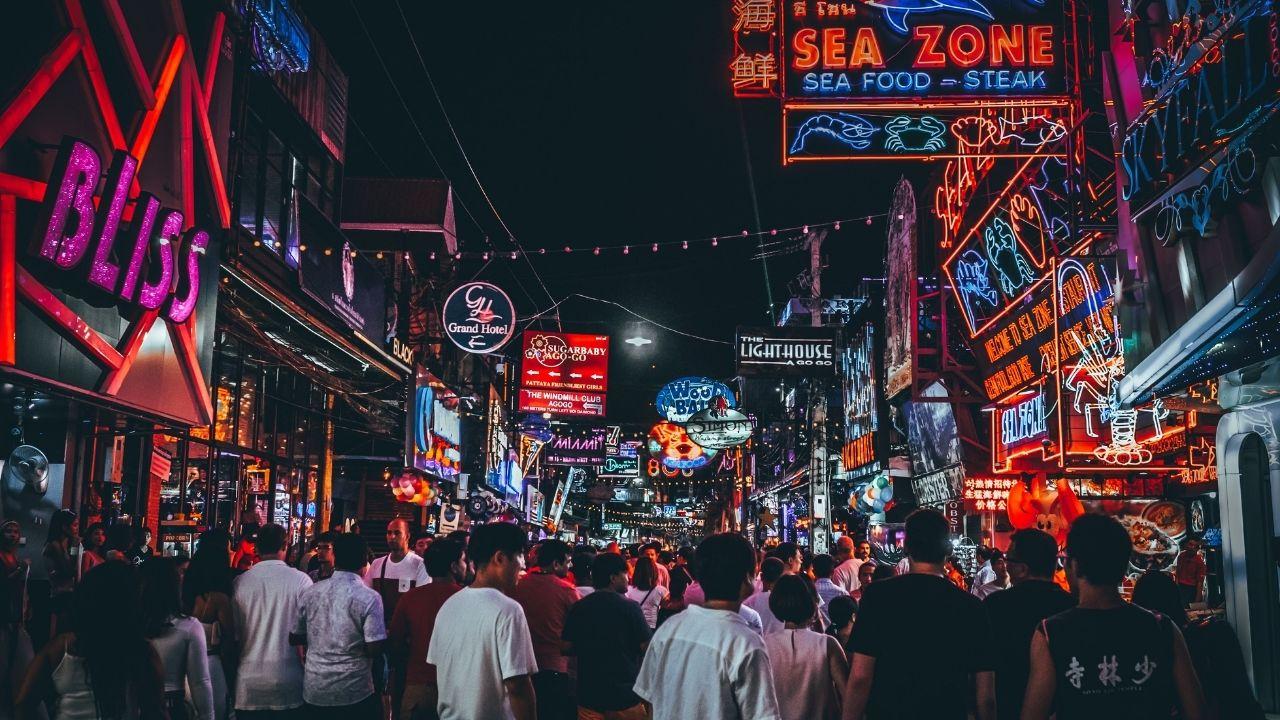 Pattaya, ville pour faire la fête en Thaïlande