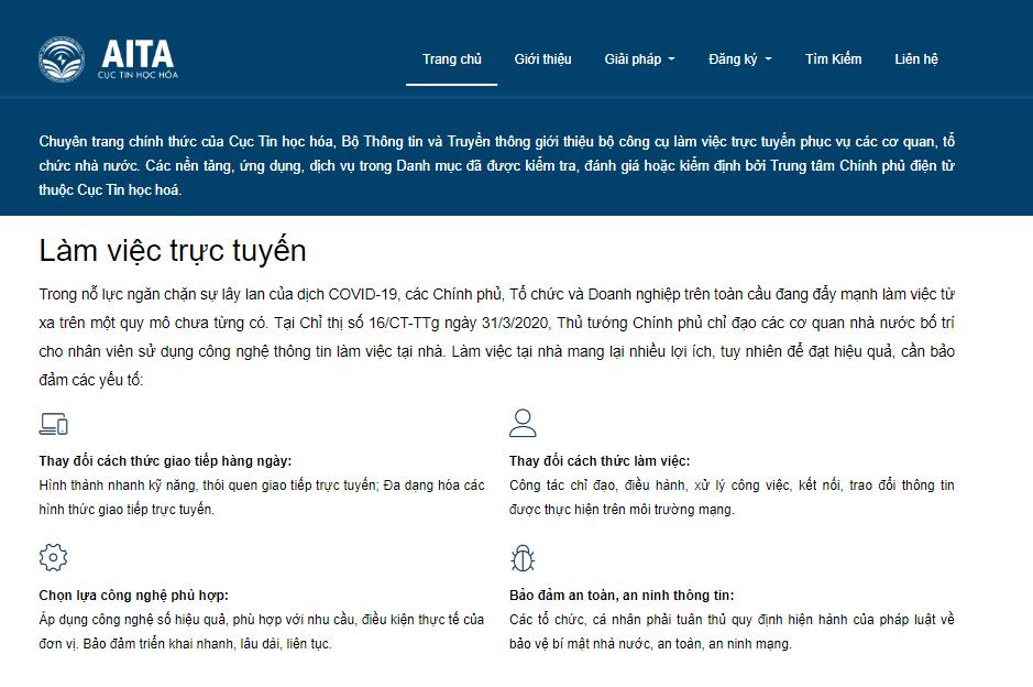 AZtest được Cục Tin học hoá giới thiệu là một trong những bộ công cụ làm việc trực tuyến hiệu quả