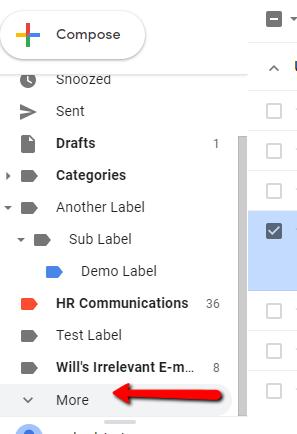 Gmail Locate Spam Filter
