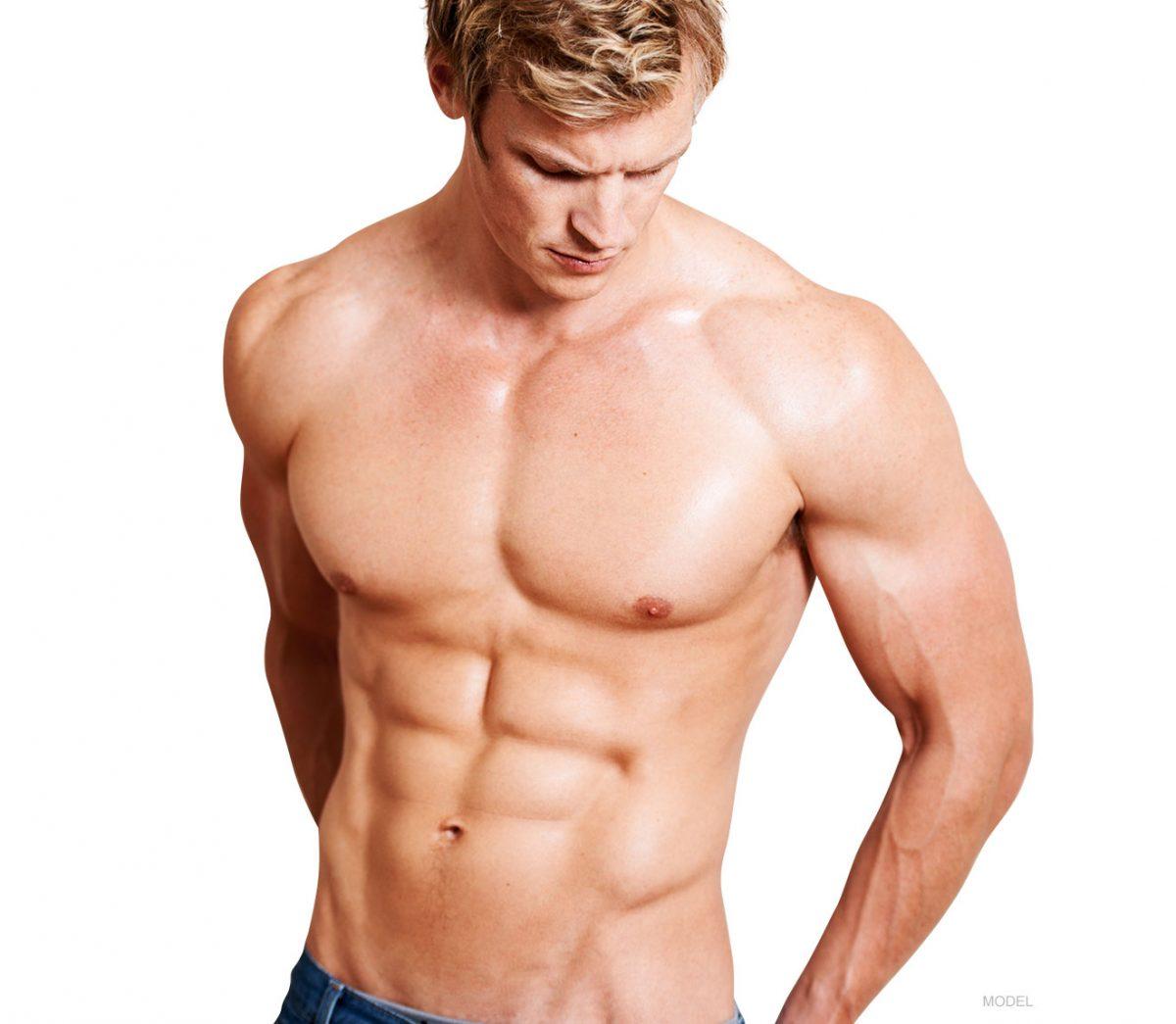 kaslı vücut