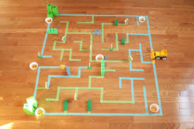 How to Make a Giant Floor Maze for Kids – Craftivity Designs