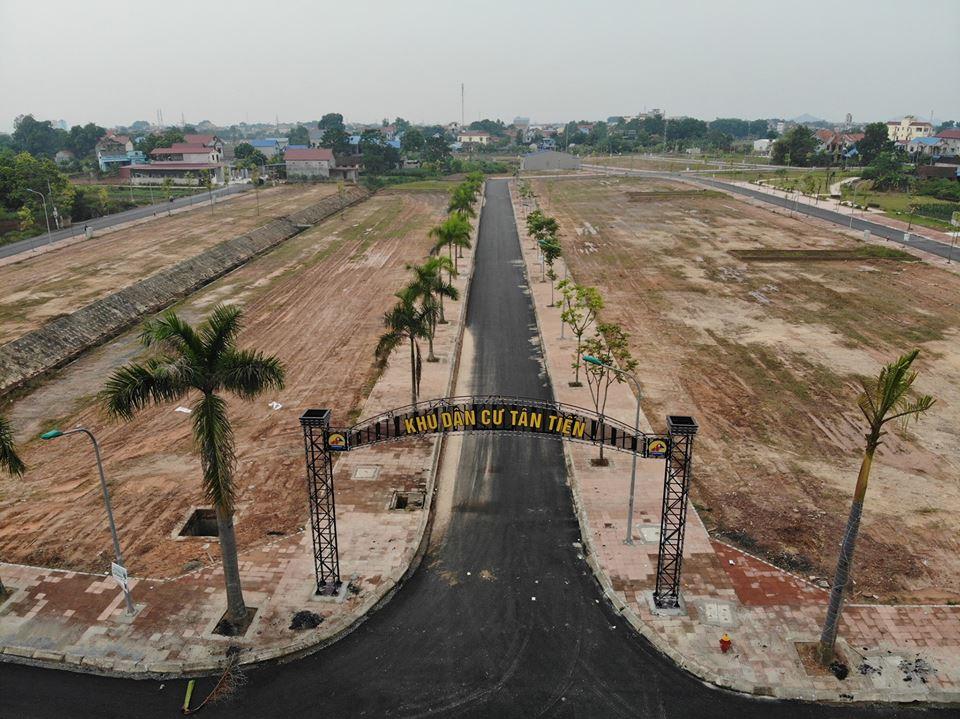 Khu dân cư Tân Tiến Phổ Yên có sổ đỏ | Mặt đại lộ Đông Tây 69m
