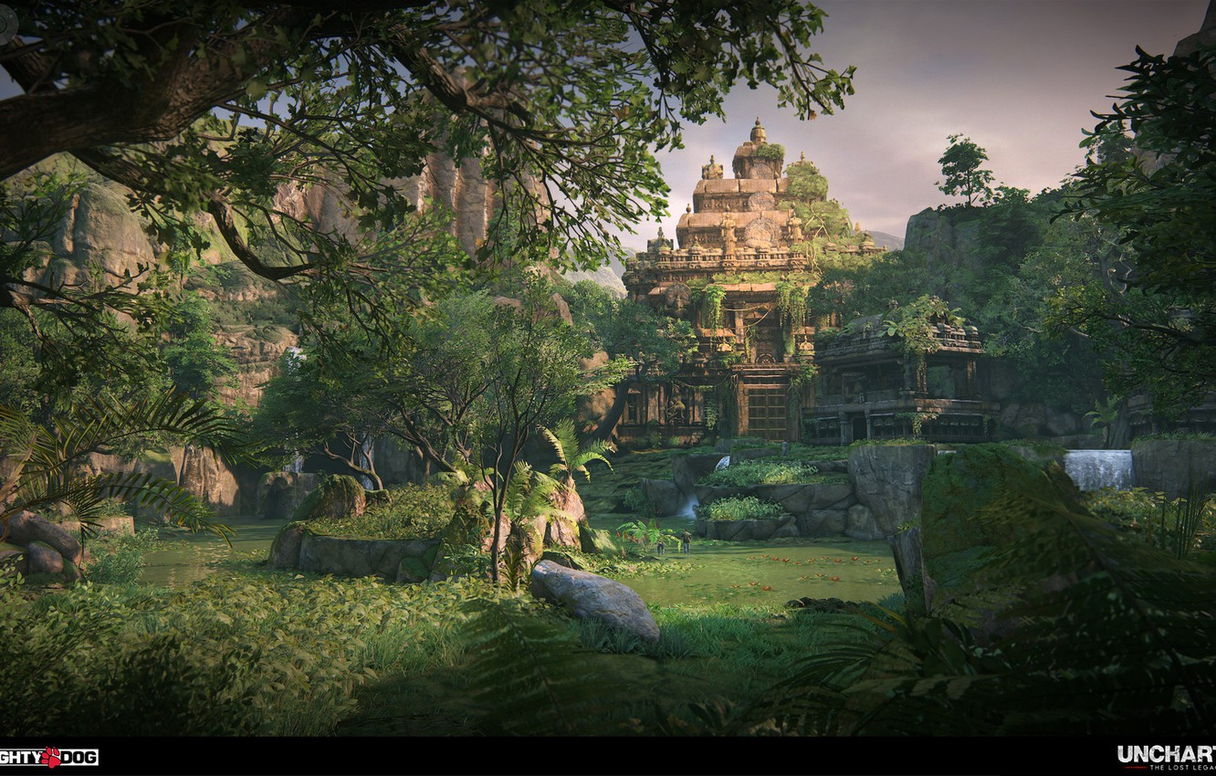 Uncharted is set in the real-world location of the Amazon Rainforest.