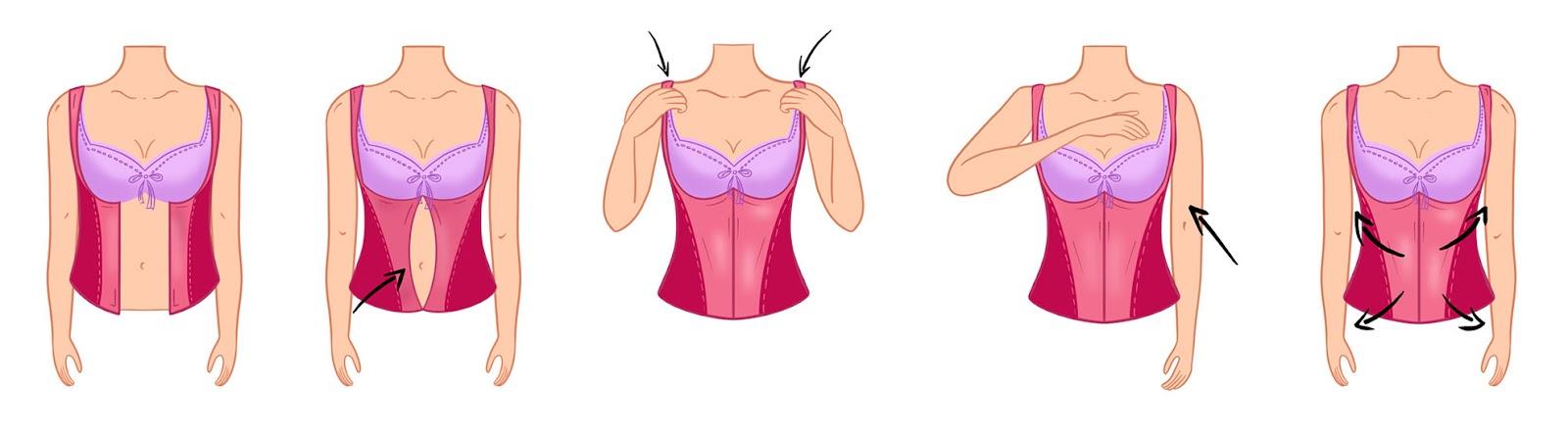 Как носить утягивающее белье