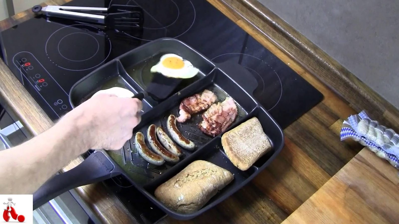 A Master Pan, Master Pan, Pan, Gigantic Pile, Gigantic, Pile, Smart Cooking, Cooking in Less Time, Easy Cooking