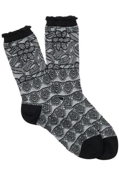 Natori Lace Trellis Crew Socks from Nordstrom Rack