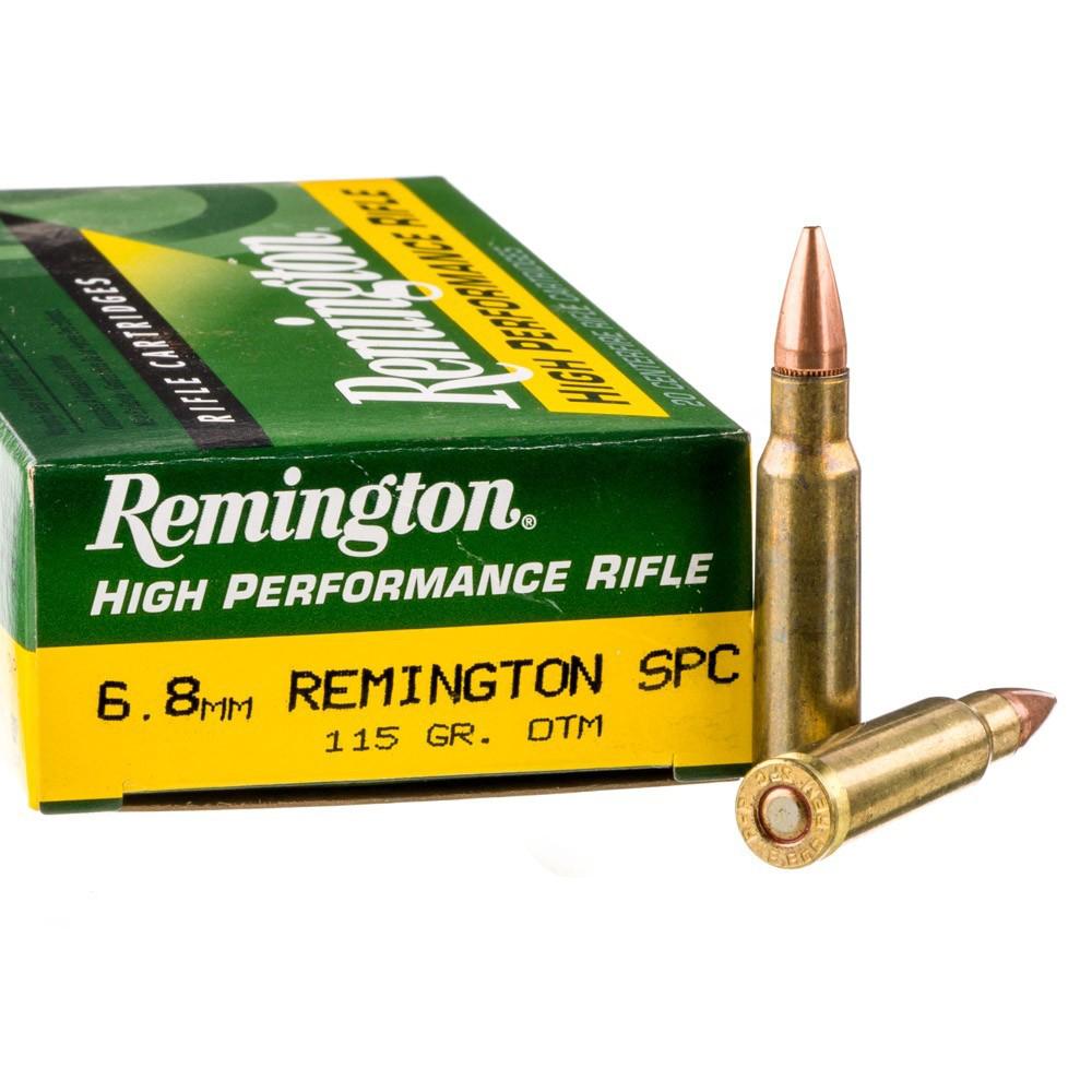 6.8 spc remington ammo