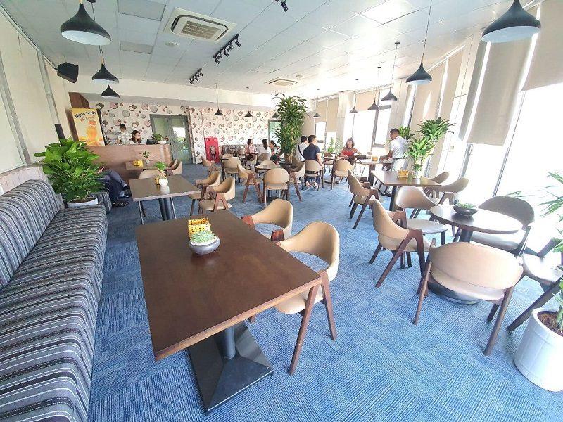 Quán cà phê của bất động sản Nhật Nam