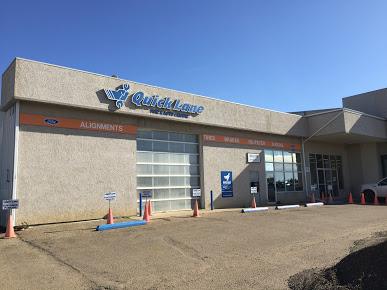 Aspen Ford's Service Centre in Stettler