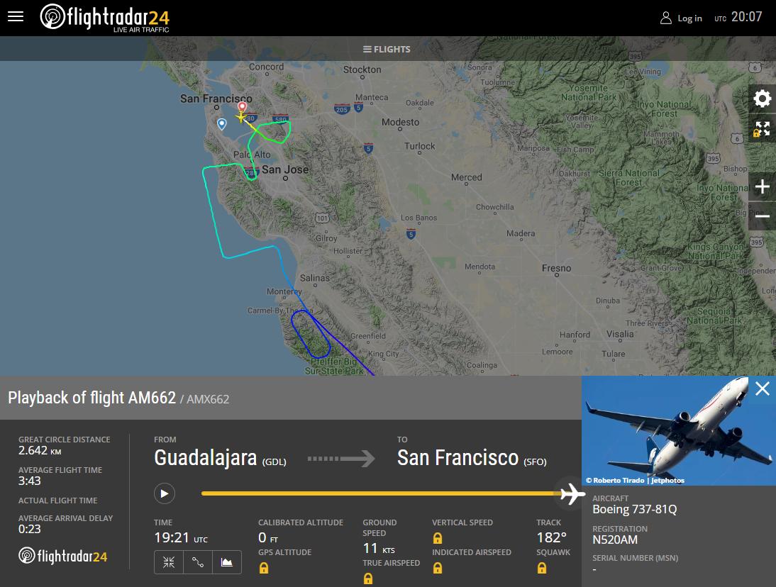 Arrestan a pasajeros de Aeroméxico en Oakland [Internacional]