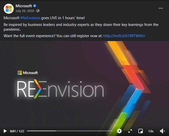 Microsoft Re-envision
