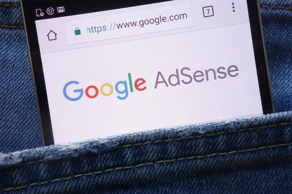 Google AdSense on pocket