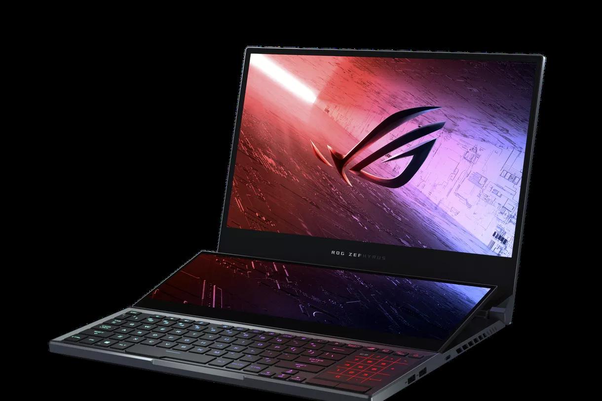 ROG Zephyrus Duo 15 di Asus è un laptop da gioco con due schermi
