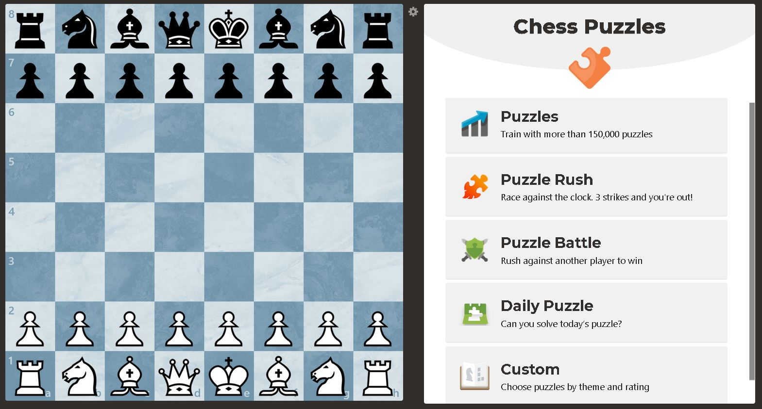 Image of Puzzle User Interface