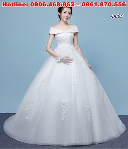 áo cưới cô dâu bầu