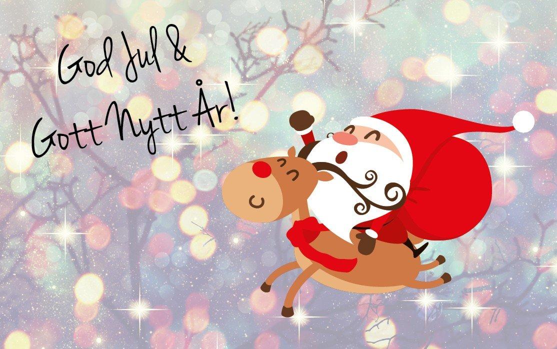 God Jul och Gott Nytt År | Ninolab