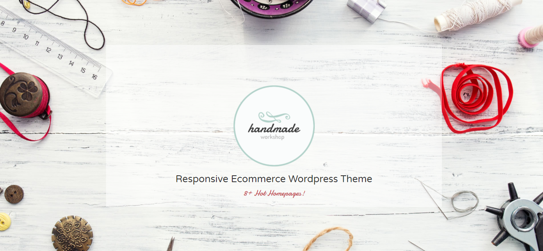 Handmade - handmade woocommerce theme