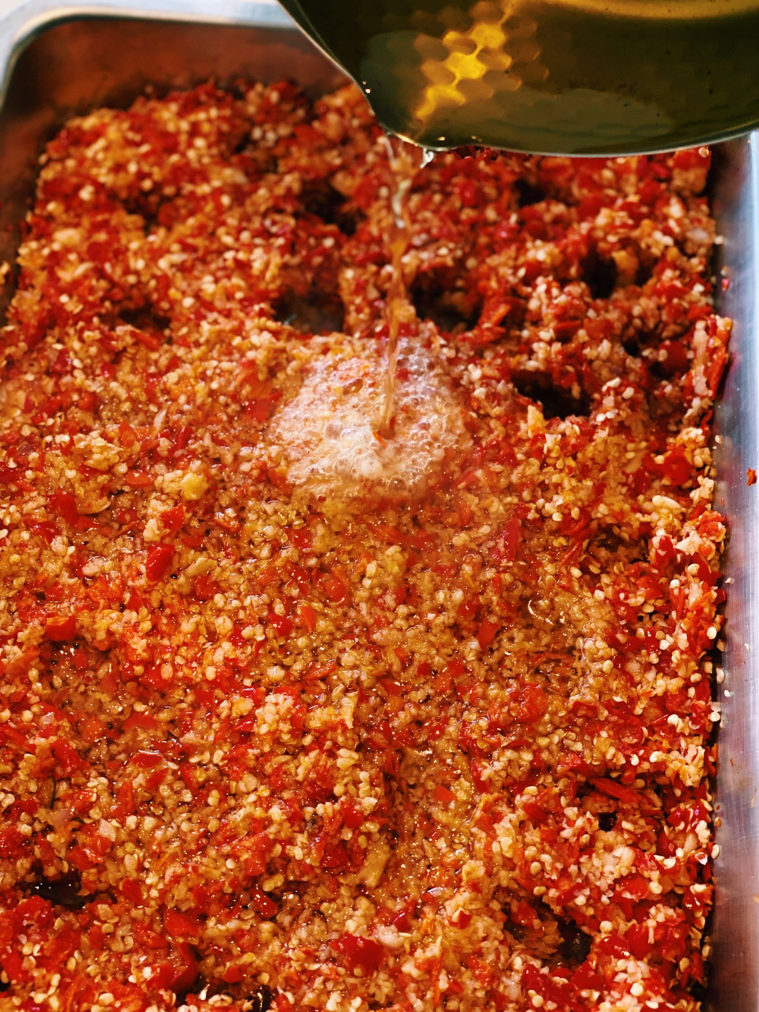 Spicy Garlic Chili Paste (Super EASY!)