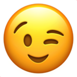 Image result for emoji wink face